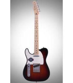 Sunburst Fender American Standard Telecaster Left Handed Maple Fingerboard, and 2 Single-coil Pickups - Sunburst Fender American Standard Telecaster, Fender Guitars, Left Handed, China, Color, Colour, Porcelain, Colors