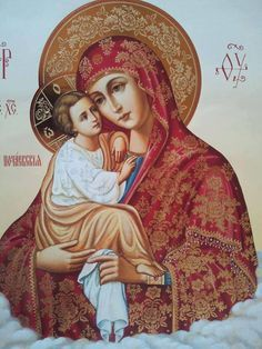 Simply Orthodox ☦ - Some amazingly beautiful icons of the Most Holy...
