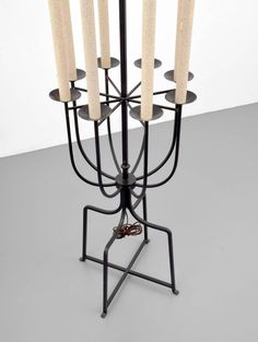 Large Tommi Parzinger Floor Lamp, circa 1960 3