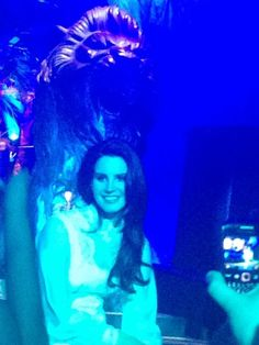 Lana Del Rey in Manchester (1st show) #LDR #Paradise_Tour 2013