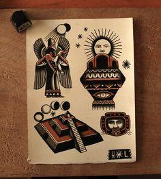 hopelesslover-tattoos:  ancient aliens Traditional Hand Tattoo, Traditional Flash, American Traditional, Daniel Tattoo, Tattoo Flash Sheet, Tatuajes Tattoos, Tattoo Shows, Black Ink Tattoos, Dark Tattoo