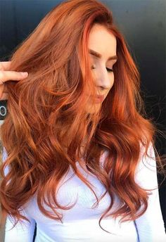 53 Fancy Ginger Hair Color Shades to Obsess over: Ginger Hair Facts Magenta Hair Colors, Hair Color Shades, Hair Dye Colors, Hair Colour, Ginger Hair Dyed, Ginger Hair Color, Dyed Hair, Big Box Braids Hairstyles, Casual Hairstyles