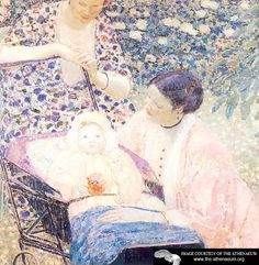 The Mother  Frederick C. Frieseke