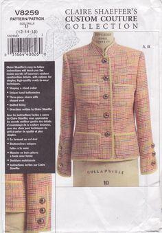 Vogue 8259 Claire Shaeffer Jacket