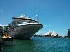 Diamond Princess in Sydney, Circular Quay
