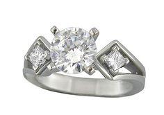 Gem East | Products | LF1593  #engagement #diamond #rings #UT