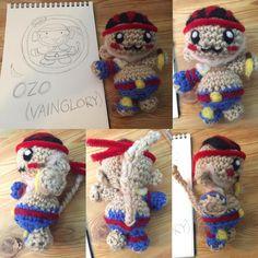 Ozo from #vainglory #amigurumi #crochet by yumaranken