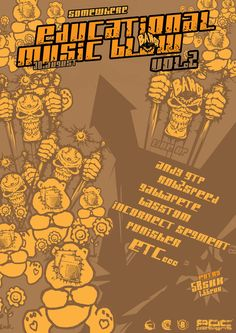 Educational Music Blow 2 flyer by psychodiagnostic on DeviantArt Party Flyer, Brochure Design, Deviantart, Education, Music, Muziek, Musik, Educational Illustrations, Learning