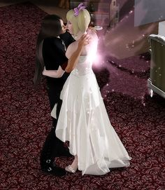 The pink fairy is insane and an evil emperor. Sims 3, Wedding Dresses, Fashion, Bride Dresses, Moda, Bridal Gowns, Fashion Styles, Wedding Dressses