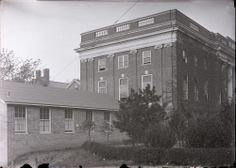 Steele Wing and Annex, University of Virginia Hospital, circa 1927