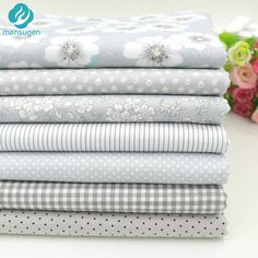 Find More Fabric Information about 2016 New 7pcs 40x50cm Gery Cotton Fabric for Patchwork Quilts Cushions Patchwork Telas Sewing Tissue DIY Crafts  Tilda Cloth,High Quality cotton fabric for bedding,China cotton linen fabric Suppliers, Cheap fabric 100 cotton from MENSUGEN JESSICA'S FABRIC Store on Aliexpress.com