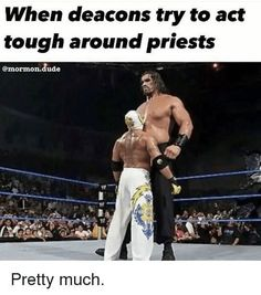 Being a deacon in the LDS Church can be tough at times - and being a teenager is hard enough as it is. These funny memes sum up what like can be like for the 12 and 13 year-olds in the church. Funny Church Memes, Funny Mormon Memes, Church Jokes, Lds Memes, Catholic Memes, Lds Church, Religious Jokes, Funny Quotes, Future Memes