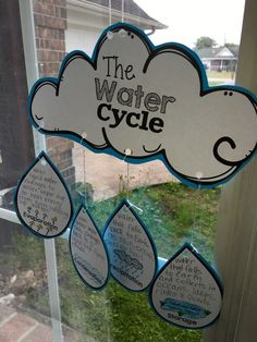 Water Cycle Your students will want to DIVE right into this fun Water Cycle packet full of activities, experiments, foldables and crafts! The activities Primary Science, 6th Grade Science, Elementary Science, Science Classroom, Science Fair, Science Lessons, Teaching Science, Science For Kids, Social Science