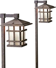 hadco mission style landscape lighting low voltage and. Black Bedroom Furniture Sets. Home Design Ideas