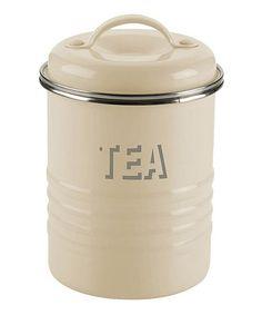Look at this #zulilyfind! Vintage 'Tea' Canister #zulilyfinds