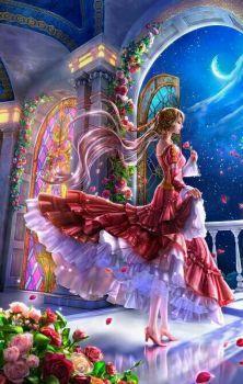 Beautiful Night - Fantasy Wallpaper ID 1787050 - Desktop Nexus Abstract Beautiful Fantasy Art, Beautiful Fairies, Beautiful Anime Girl, Fantasy Women, Fantasy Girl, Photo Manga, Arte Sailor Moon, Anime Fantasy, Fairy Art