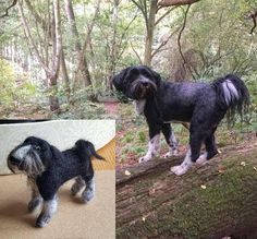 Check out this item in my Etsy shop https://www.etsy.com/uk/listing/551675430/needle-felted-tibetan-terrier-based-on