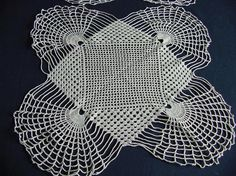 Art Deco 4 Piece Lace Table Setting c.1920 by chalcroft on Etsy, $12.00