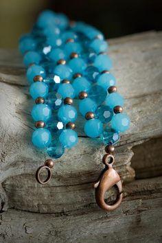 Swarovski right-angle weave bracelet