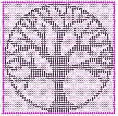 Alpha friendship bracelet pattern added by cendrillon. Alpha Patterns, Knit Patterns, Beading Patterns, Cross Stitch Patterns, Filet Crochet, Crochet Doilies, Knit Crochet, Cross Stitching, Cross Stitch Embroidery