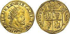 NumisBids: Numismatica Varesi s.a.s. Auction 65, Lot 439 : MILANO - FILIPPO II DI SPAGNA (1556-1598) Doppia 1578. D/ Busto...