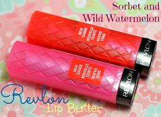 Revlon Colorburst Lip Butter Sorbet and Wild Watermelon