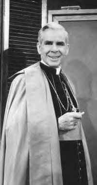 """Hearing a nun's confession is like being stoned to death with popcorn."" -Abp. Fulton Sheen"