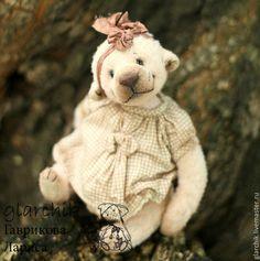 медведица Лухи - бледно-розовый,мишка,медведь,teddy,коллекционный медведь