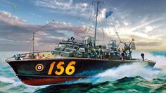 Pinturas marina II Guerra Mundial : Photo