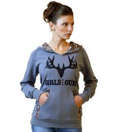 Girls with Guns // Women's Mossy Oak Buck Hoodie #scheels
