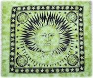 "$29.95 Celestial with Fringe 96"" x 84"" tapestry"