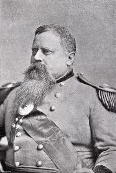 "GENERAL FITZHUGH LEE (pictured here), nephew of Robert E. Lee and Governor of Virginia, said, ""I was very fond of General Hancock. He was a noble, gallant fellow and a soldier of undoubted merit and great ability...He fought so well on his side during the war that when it was over he was satisfied, and sheathed his sword and believed that there must be fraternity between both sections to make the whole Republic prosperous."""