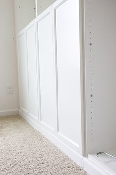 DIY Built Ins From IKEA Bookcases + ORC Week 2. Ikea Billy  BookcaseBookshelvesVertical StorageChallenge ...