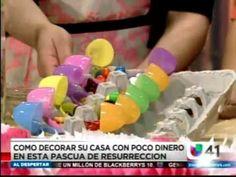 Ideas de como #decorar con huevos para #Pascua!!! Hoy en Univision Al Despertar! @Univision