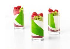 Yogurt-menta-frutos rojos-guisante | Sergi Vela
