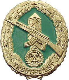 DDR B.0867 Reservistenabzeichen Grenztruppen