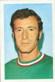 Aaron Padilla of Mexico. 1970 World Cup Finals card.