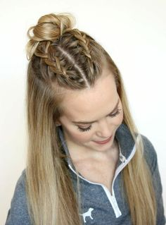 10 Marvelous Unique Ideas: Braided Hairstyles Bridesmaid older women hairstyles updo.Asymmetrical Hairstyles Growing Out messy hairstyles bandana.Everyday Hairstyles For Round Face. Medium Hair Styles, Natural Hair Styles, Short Hair Styles, Long Hair Dos, Straight Hair Dos, Balayage Straight, Straight Cut, Hair Cute, Easy Hairstyles For School