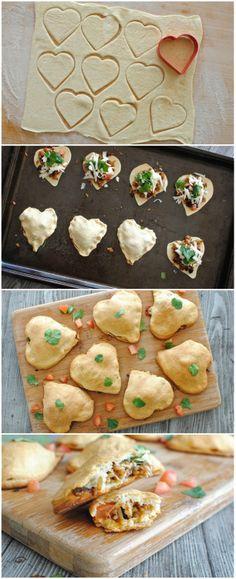 Empanada Hearts #valentinesday