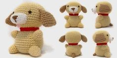 2000 Free Amigurumi Patterns: Puppy Amigurumi