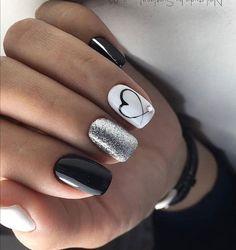 Cute Acrylic Nails, Acrylic Nail Designs, Glitter Nails, Glitter Glue, Stylish Nails, Trendy Nails, Milky Nails, Chrome Nails Designs, Simple Nails