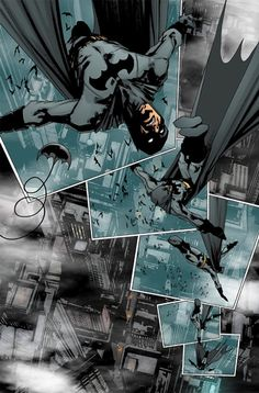 An awesome splash page by Jock from Detective Comics  #876