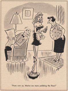Vintage and Retro Glamour Girls in nylon stockings and associated lingerie Cartoon Jokes, Sexy Cartoons, Playboy Cartoons, Funny Cartoon Pictures, Funny Picture Jokes, Retro Cartoons, Adult Cartoons, Cartoon Art, Bd Art