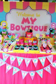 Minnie Bowtique | CatchMyParty.com