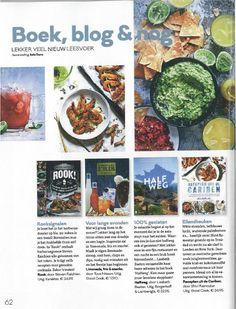 'Limonade, fris & snacks' 'Halfweg' en 'Recepten uit de Cariben' als boekentips in Libelle Lekker - juli 2016