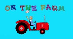 """""""Farm animals for children"""" (extended version) --  teaching your kids ab..."""