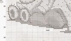 orsetto copertina punto croce | Hobby lavori femminili - ricamo - uncinetto - maglia