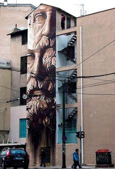 iNO Greek Street Artist.