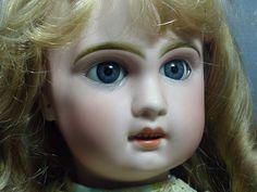 Sweet Bebe Tete Jumeau 10  with Blue Sleep Eyes