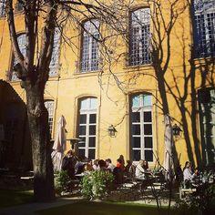 #caumont #terrace #provence #cezanne #art #france #aixenprovence